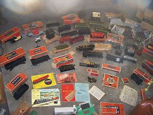 RARE Huge Lot 1940s 1950s Lionel Trains Sets Engines Tenders Tracks w Boxes