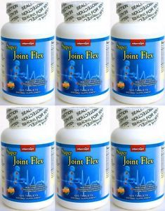 6X Triple Strength Joint Support Aid Glucosamine MSM Chondroitin 600 Tablets