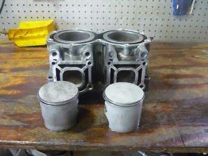 Yamaha Waverunner Jet Ski 650 Engine Cylinders Head Pistons Jug
