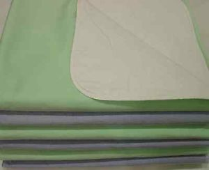 6 New Cloth Bed Pads Reusable Waterproof 34x36 Washable Medical Incontinence Aid