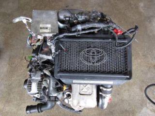 JDM 97 Toyota Caldina 4th Gen 3SGTE Turbo Engine ECU 3rd Gen ST215 MR2 3S GTE