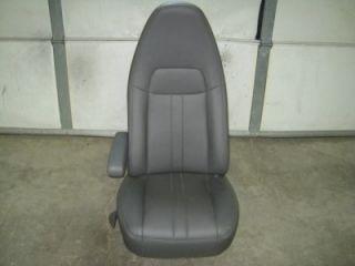 97 11 12 13 Chevy Express GMC Savanna Van LH Drivers Gray Vinyl Bucket Seat