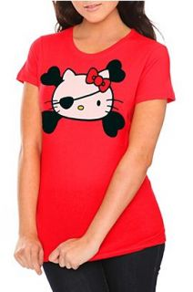 Hello Kitty Pirate Girls T Shirt