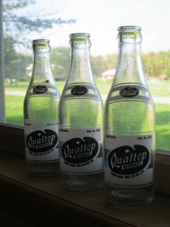 Old Vintage Glass Soda Bottle Qualtop Beverages Rochester NY