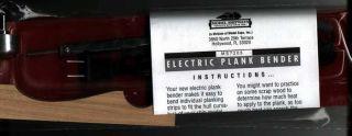 Model Shipways Electric Plank Bender Kit Wood SHIP
