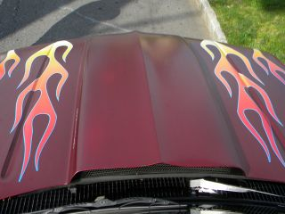 10pc Flame Decals Old School Color PT Cruiser HHR Hot Rat Rod Wrecker RAM