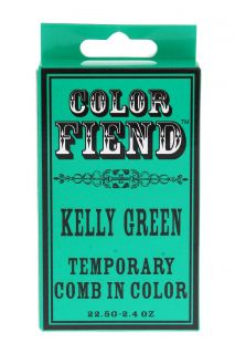 Color Fiend Kelly Green Temporary Comb In Color