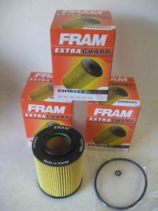 Dodge Jeep Mercedes Fram CH10323 Oil Filter Lot 3 Three Fits OE 5175571AA