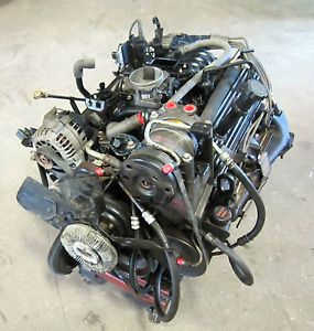 96 97 98 99 00 Chevy GMC Truck Tahoe Yukon Suburban 350 5 7 Vortec Engine 153K