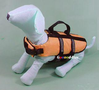Pet Dog Puppy Swimming Fishing Life Jacket Preserver Safety Vest XXS XS s M L