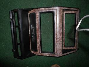 1980 1986 Ford Truck XLT or Bronco Wood Grain Radio Bezel