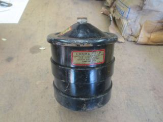 MB GPW CJ2A Fram Oil Filter Assembly G503 Jeep Ford Willys