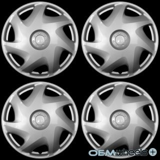 "4 New Silver 16"" Hub Caps Fits Dodge SUV Car Truck Center Wheel Covers Set"