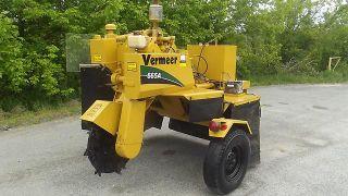 "Vermeer 665A Stump Grinder Tow Behind 32"" Wisconsin 4 Cylinder Gas"
