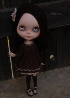 OOAK Custom Blythe Doll by Melacacia ♥ Rerooted Art Doll ♥ Blair ♥