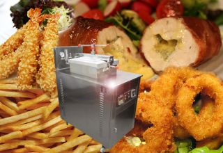 Brand New Electric Pressure Fryer MDXZ 24