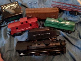 Super Nice Marx Locomotive Train Set 9625 with 666 Engine Tested