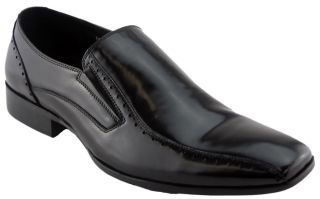 Badge Knight Mens Leather Shoes Dress Going Out in Black on  Australia