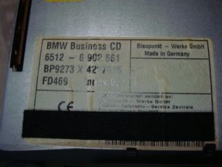99 00 BMW 323 328 CD Player Radio E46 Business CD Player 6512 6 902 661