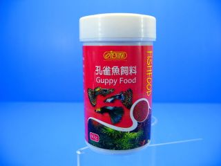 Ista Guppy Food 60g for Aquatic Tropical Reptiles Feed Protein Calcium