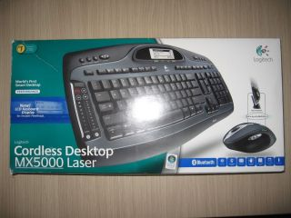Logitech MX5000 Bluetooth Keyboard and Laser Mouse on PopScreen