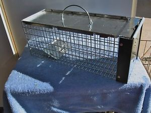 X Small Havahart Live Humane Animal Cage Trap Squirrels Chipmunks Small Rabbits