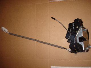 BMW 325i E46 Passenger Rear Door Actuator Lock Latch