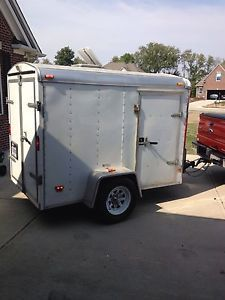 2004 5x8 Enclosed Trailer Haulmark Cargo Motorcycle Trailers
