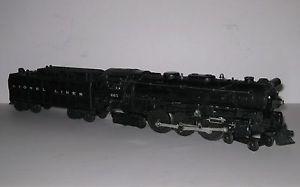 Lionel Electric Trains 665 Hudson Steam Locomotive Engine 6026W Whistle Tender