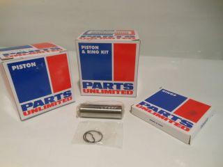 Parts Unlimited Piston Kit Arctic Cat El Tigre 6000 80 85 500cc Std 09694