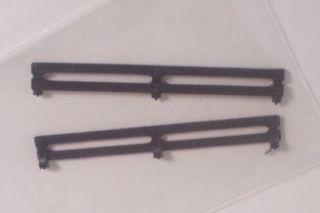 Bed Rails Only Dodge Truck 4x4 Warlock MPC 1 25 Vtg Pickup Parts 70's Stepside