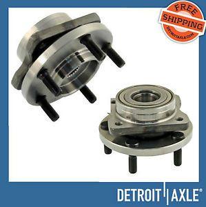 "2 Front Hub Bearing Assembly Chrysler Dodge Plymouth 15"" 16"" 17"" Wheel 5 Lug New"