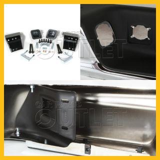 02 03 Dodge RAM 1500 Chrome Rear Step Bumper Lic Lamp