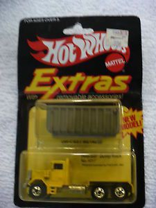 EZ Hot Wheels Peterbilt Dump Truck with Removable Accessories