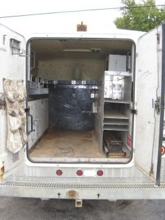 1486 Fiberglass Walk in Service Body Tool Box Utility Bed for Truck or Trailer
