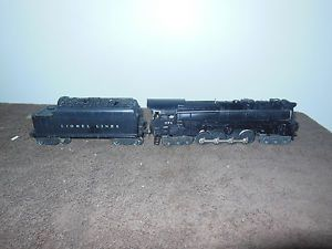 Old Lionel Train 671 Turbine Steam Loco Engine 6466WX Tender Set 6 8 6 Unit