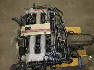 90 96 Nissan 300zx VG30DETT Twin Turbo Engine Z32 Fairlady JDM Motor Auto Tranny