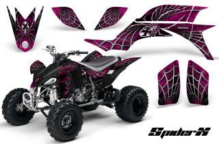 Yamaha YFZ 450 03 08 ATV Graphics Kit Decals Stickers Spiderx PB