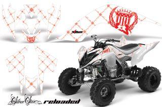 AMR Racing ATV Graphic Wrap Off Road Decal Sticker Kit Yamaha Raptor 700 RRW