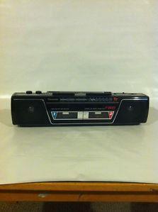 Vintage Panasonic Boombox Model RX FW18 Dual Cassette Deck