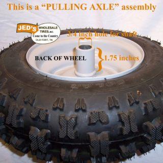 4 10 6 4 10 3 50 6 Snow Blower Thrower Tire Rim Wheel Assembly Kenda Polar Trac