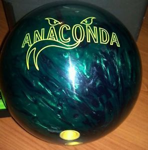Used Brunswick Anaconda 14 Pounds Bowling Ball