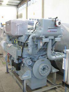 New Mitsubishi S6RMPTK Marine Diesel Engine 520KW 697HP 1650rpm Type Approved