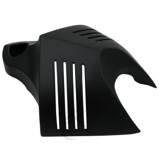 Black Horn Cover for Harley Softail Dyna Glide Big Twin Electra Road King 96 Up