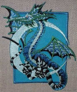Amy Brown Fairy Moon Dragon Embroidered Patch