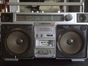 Clairtone 7978 Huge Ghettoblaster Boombox 20 20 Vintage 1982 Conion Boom Box