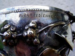 Barbedienne Silvered Bronze Skyphos Scyphus