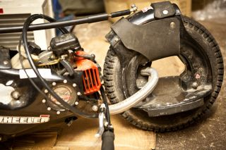Wheelman G Wheel 49cc 2 Stroke Gas Engine Scooter Skateboard