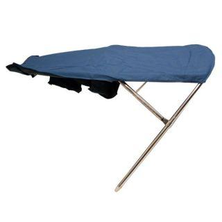 Custom Dark Blue 86 inch Boat Wakeboard Bimini Top