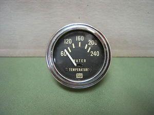 Vintage Stewart Warner Temperature Gauge 1932 Ford Flathead Hot Rod Water Temp